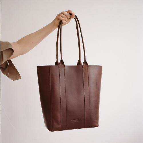 Sal Tote Bag Vertical
